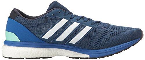Adidas Herren Adizero Boston 6m Laufschuh Mystery Blue/Dark Navy/Satellite