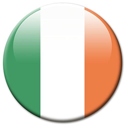 lagge Irland Magnet Länder Flaggen Reise Souvenir für Kühlschrank stark groß 50 mm ()