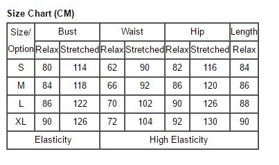 Da donna nero a coste con fascetta Stretched Bandage Body/Teddy Body Bodycon Tops (S-M-L) Black