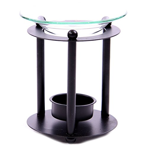 Metal-Rod-Oil-Burner-with-Glass-Dish