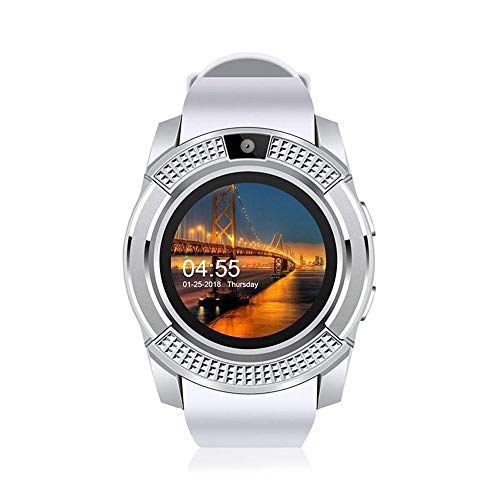 KOBWA Smart Watch,V8 Bluetooth Sport Fitness Tracker
