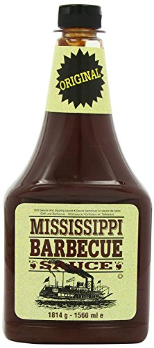 Mississippi - BBQ-Sauce Original - 1814g