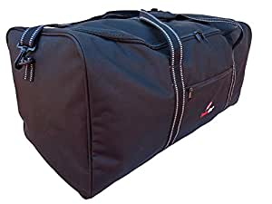 Extra Large XL Big Holdall - Suitcase Size Travel Bag - 110 Litre Very Large Black Luggage Holdalls - 1 Huge Space - Cargo Bags For Storage, Travel or Laundry - 34 Inch 86cm X 36 X 36 0.9kg RL34K