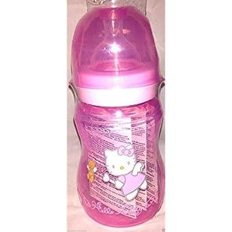 Hello Kitty Newborn Baby Girl Pink Feeding Wide Neck Bottle 240ml