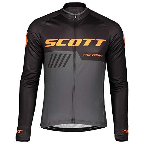 Scott RC Team 10 Fahrrad Trikot lang grau/schwarz 2019: Größe: XL (54/56)
