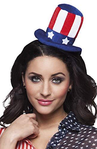 Kostüm Party Amerika Themen - Boland 04233 Haarreif Aunt Sam, One Size