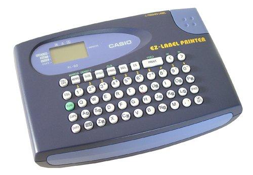 Casio Ez-label Printer Kl-60 Beschriftungsgerät Für Schriftbänder 6 9 12 Mm