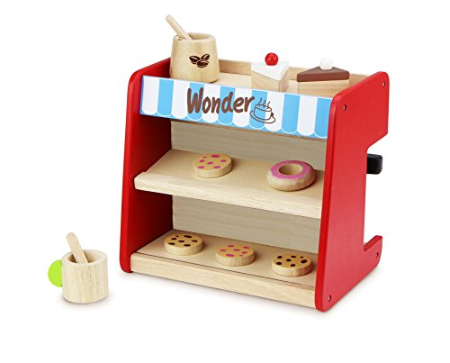 Andreu Toys Andreu ToysWW-4567 Wonder World All in 1 Coffee Shop Toy Set, 26 x 19 x 24 cm