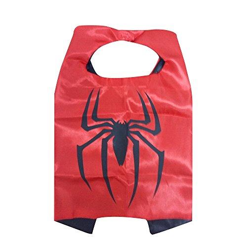 KeepworthSourcing, 55 x 70 cm, Motiv Spiderman Superhero Regenmäntel für Kinder Party Kinder Geschenk
