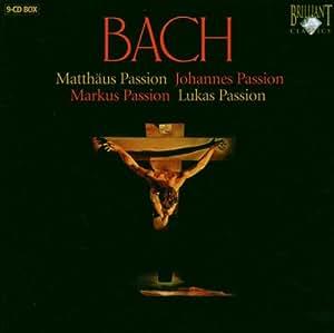 Bach - St John, St Luke, St Mark & St Matthew Passions
