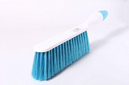tankerstreet Weiche Borsten Reinigungsbürste Schreibtisch Tisch Sofa Duster Kleidung Bed Sheet Partikel Haar Entferner–Blau (Kleidung Vivid Blau)