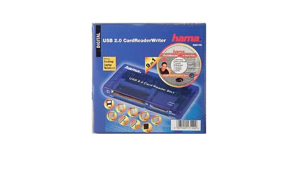 HAMA 9IN1 USB 2.0 CARD READER DRIVER DOWNLOAD FREE