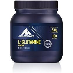 Multipower L-Glutamina en Polvo Aminoácidos - 500 gr
