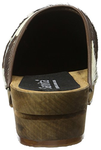 Sanita Wood-Casper open , Chaussures homme Multicolore - Mehrfarbig (Brown Cow 3)