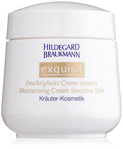 Hildegard Braukmann Exquisit femme/women, Feuchtigkeits Creme Sensitive, 1er Pack (1 x 50 ml) - Sensitive Tagescreme