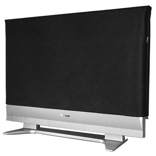 Preisvergleich Produktbild ROTRi reg; maßgenaue Staubschutzhülle für Fernseher Samsung KS8090 UE55KS8090 - schwarz