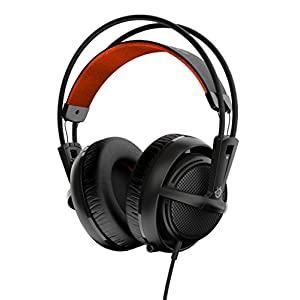 SteelSeries Siberia 200, Gaming Headset, Retractable Mic, Software Management, (PC / Mac / Playstation / Mobile) - Black