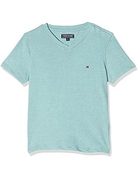 Tommy Hilfiger Ame Basic Jaspe Vn tee S/S, Camiseta para Niños