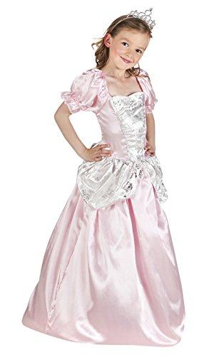 chen Luxury Prinzessinnenkostüm , Rosa, Größe 104-116, 4-6 Jahre (Disney Schneewittchen Kostüm Kleinkind)