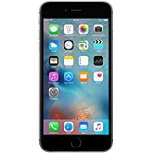 "Apple iPhone 6S Plus - Smartphone libre iOS, Pantalla 5.5"", 64 GB (Dual-Core 1.4 GHz, 2 GB de RAM, cámara de 12 MP), (Reacondicionado Certificado por Apple), Gris (Grey)"