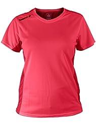 Luanvi Nocaut Plus Sra Pack de 5 Camisetas, Mujer, Coral Flúor, L