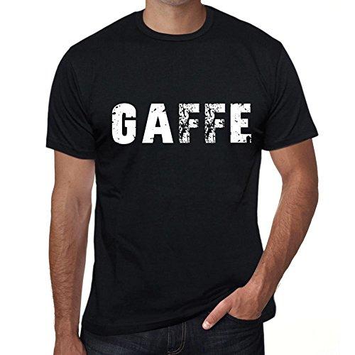 gaffe Herren T Shirt Schwarz Geburtstag Geschenk 00553