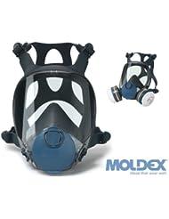 MOLDEX 9000 Series Full Face Respirator / Dust & Gas Mask - 9001, 9002, 9003 (9002 Medium) by Moldex