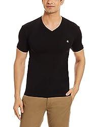 United Colors of Benetton Mens Regular Fit T-Shirt (17P3C78J1202I _Black_XL)