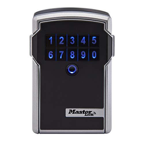 MASTER LOCK Bluetooth Schlüsseltresor [Large] [Wandmontage] - 5441EURD - Sichere und Intelligente Schlüsselsafe