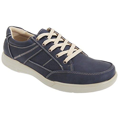 Smart Uns - Chaussures décontractées - Homme Bleu Marine