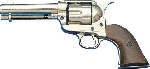 Denix Colt Peacemaker vernickelt USA 1873 - Spielzeugwaffe -