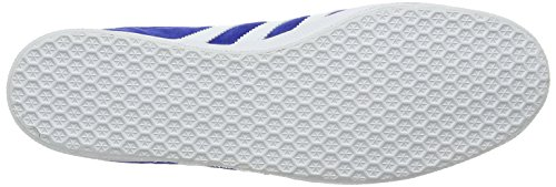 adidas Gazelle, Sneakers Basses Homme Bleu (Collegiate Royal/white/gold Metallic)