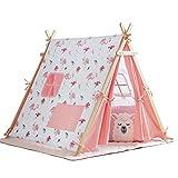 YYFZ Indoor Zelt für Kinder Indoor Zelt Haus Kinderzelt Indoor Spielhaus Baumwolle Material pp...