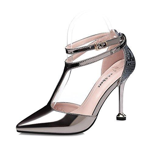 Flyrcx Mesdames Du Monde De La Mode Des Pompes De Pointe Sexy Avec De Belles Chaussures En Cuir. Ré
