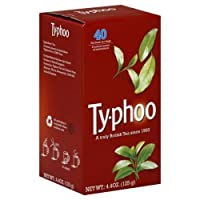 Typhoo Tea Blck Englsh Rglr 40 Bg