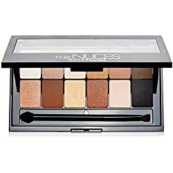Maybelline New York Paleta de Sombras de Ojos The Nudes