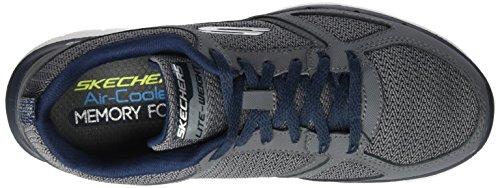 Skechers Flex Advantage 2.0, Chaussures de Sport Homme Gris (Ccbl)