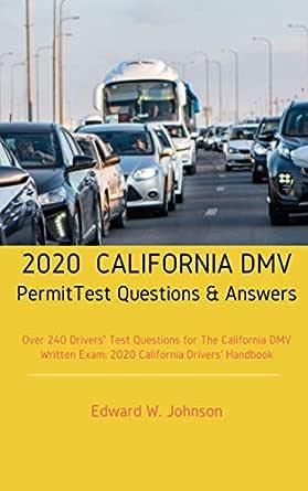 ca dmv written test 2020