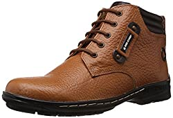 Redchief Mens Elephant Tan Leather Boots - 7 UK (RC6011 107)