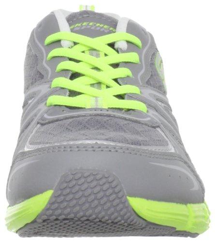 Mode Skechers Sport Gutsy De La Chaussure Grey / Lime