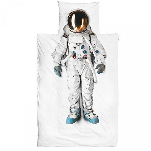 Snurk Bettwäsche Astronaut 135x200 (Raumanzug Kostüme Astronaut)