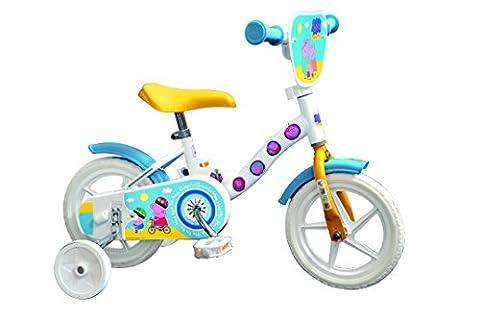 "Dino Bikes 108 L-PIG Vélo Fille - Peppa Pig, 10"""