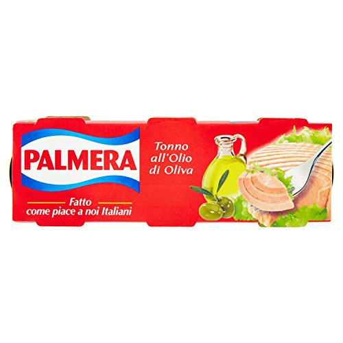 Palmera Tonno Olio Oliva - 3 Pezzi da 80 gr