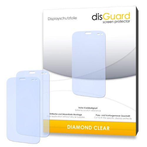 2 x disGuard® Bildschirmschutzfolie Wiko Darkmoon Schutzfolie Folie