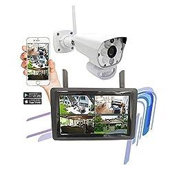 Funkvideo-System - 9 Zoll Touch Echtzeitaufzeichnung - APP iOS Android