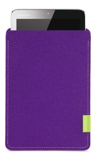 WildTech Sleeve für Lenovo A7-50 Tablet (A3500) Hülle Tasche - 17 Farben (Made in Germany) - Lila