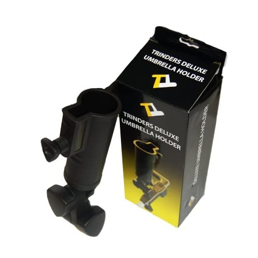 Deluxe Umbrella Holder For Powakaddy Freeway Golf Trolleys  Fits Classic,  Classic Legend, Freeway Mark 1 (not mark 2 or sport) and Powakaddy Highway