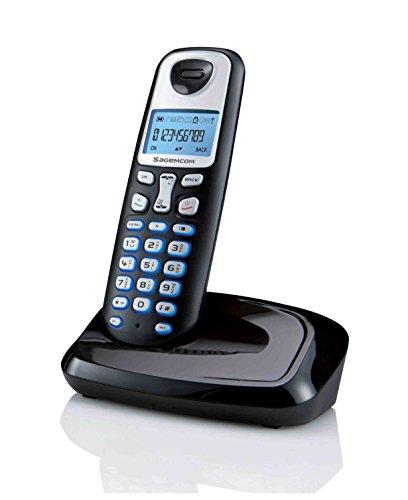 Grundig D210 DECT Schnurlostelefon schwarz