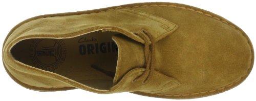 Clarks Desert Boot 203519023045, Bottes femme Jaune-TR-E1-3