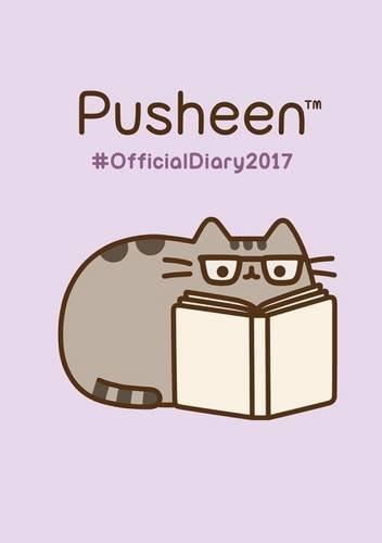 Pusheen Official 2017 A5 Pocket Diary (Spiral bound)